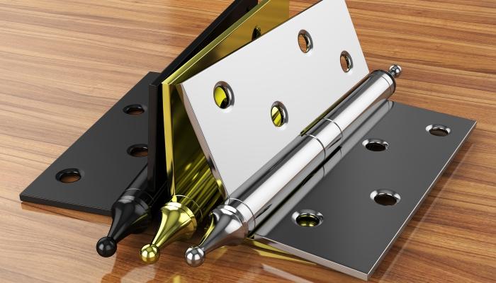 Okucia metalowe dla budowy